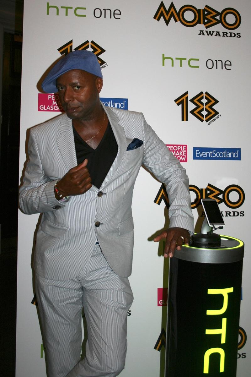 Fridja at the MOBO Nomination Awards 2013