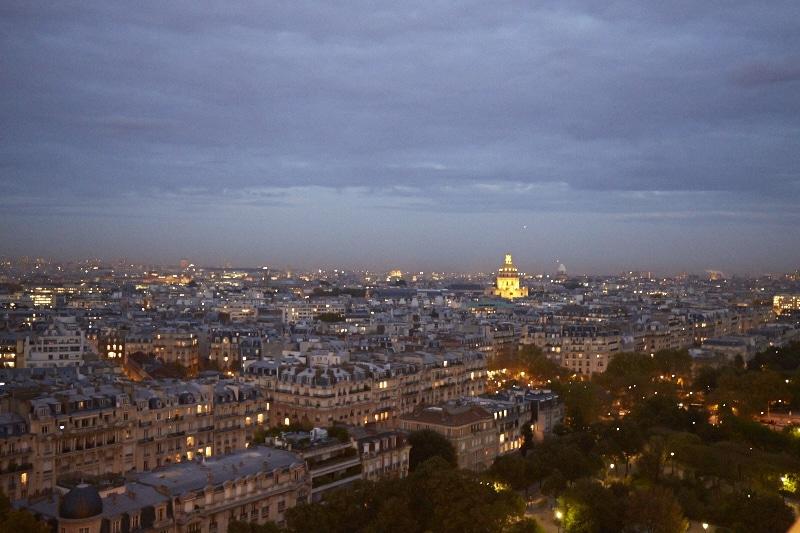 Fridja Eiffel Tower Catwalk Show 20140017
