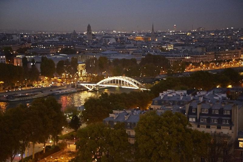 Fridja Eiffel Tower Catwalk Show 20140018