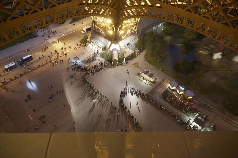 Fridja Eiffel Tower Catwalk Show 20140021