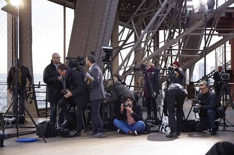 Fridja Eiffel Tower Catwalk Show 20140031