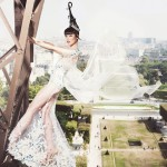 (Official Photo) J Autumn Fashion Show 2014 on the Eiffel Tower - produced by Jessica Minh Anh