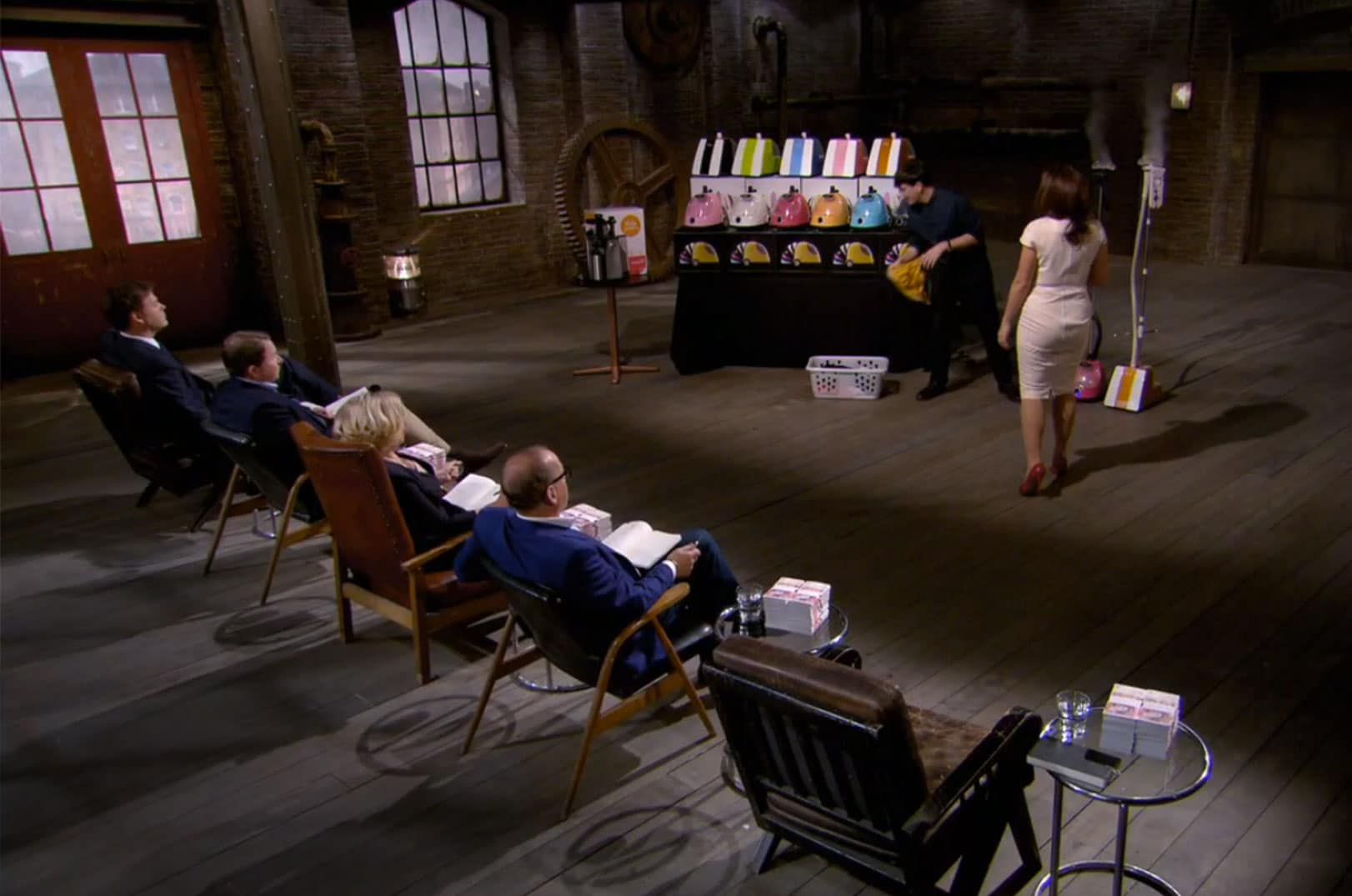 Fridja Steamers On Dragons Den In Pictures