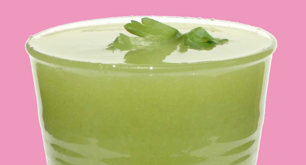 Apple, Coriander, Lime, Cucumber and Green Chilli Juice Recipe