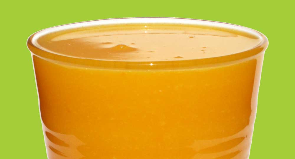 Tangerine, Lemon and Ginger Juice Recipe