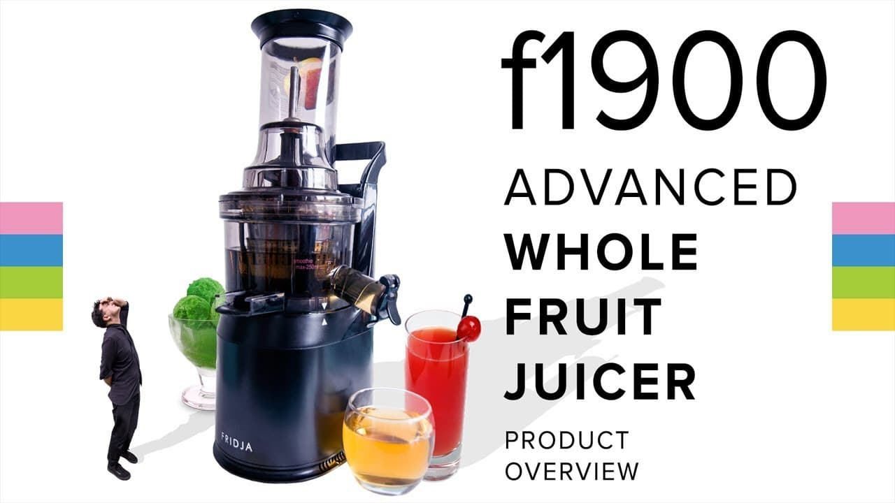 Fridja f1900 Advanced Whole Fruit Juicer - Product Overview!